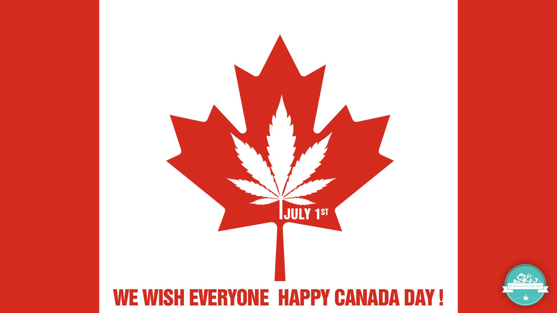 Happy Canada Day-bcweedonline