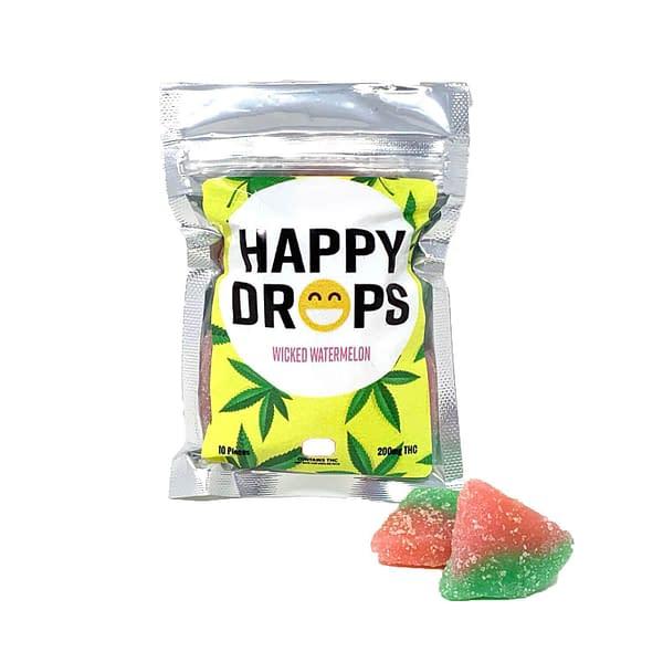 happy-drops-gummies-wicked-watermelon-bcweedonline